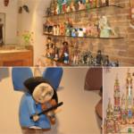 Drewniane ręcznie produkowane anioły oraz szopki bożonarodzeniowe dobre na upominek